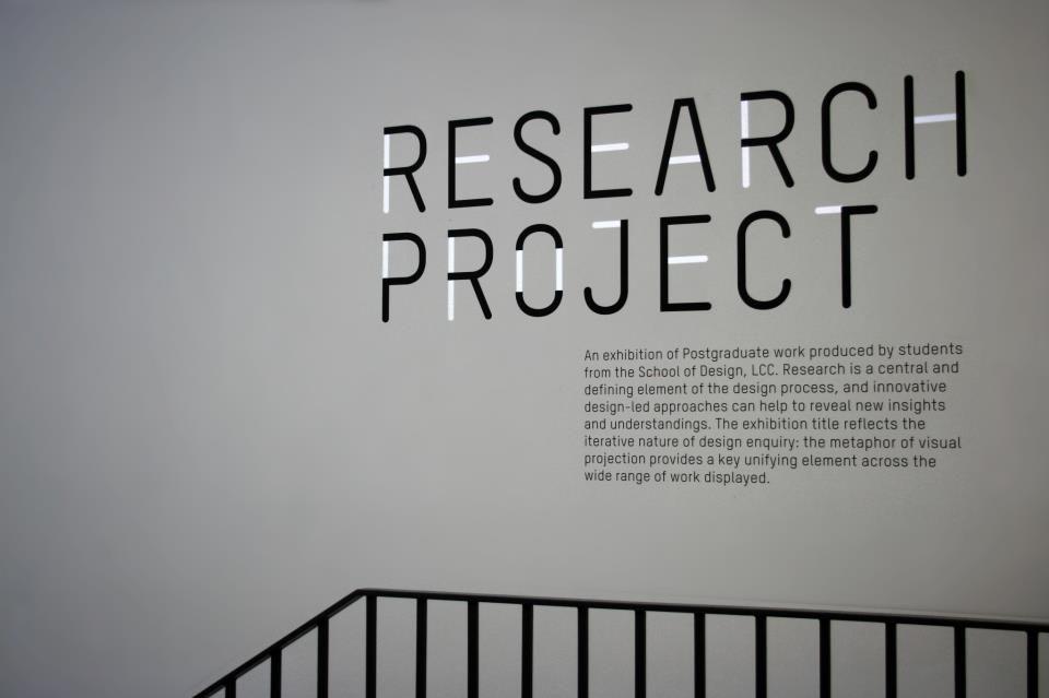 Kristinz Veritaz Design: MA Show @ the London College of Communication