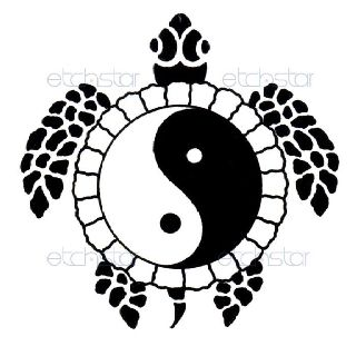 Yin Yang Turtle Tattoo Ideas Tattoos Tribal Turtle Tattoos