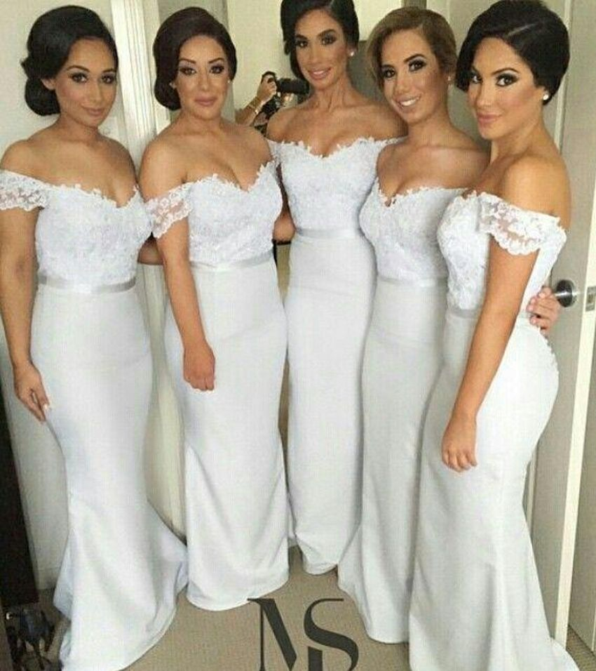 Click to buy ucuc lace long mermaid bridesmaid dresses for
