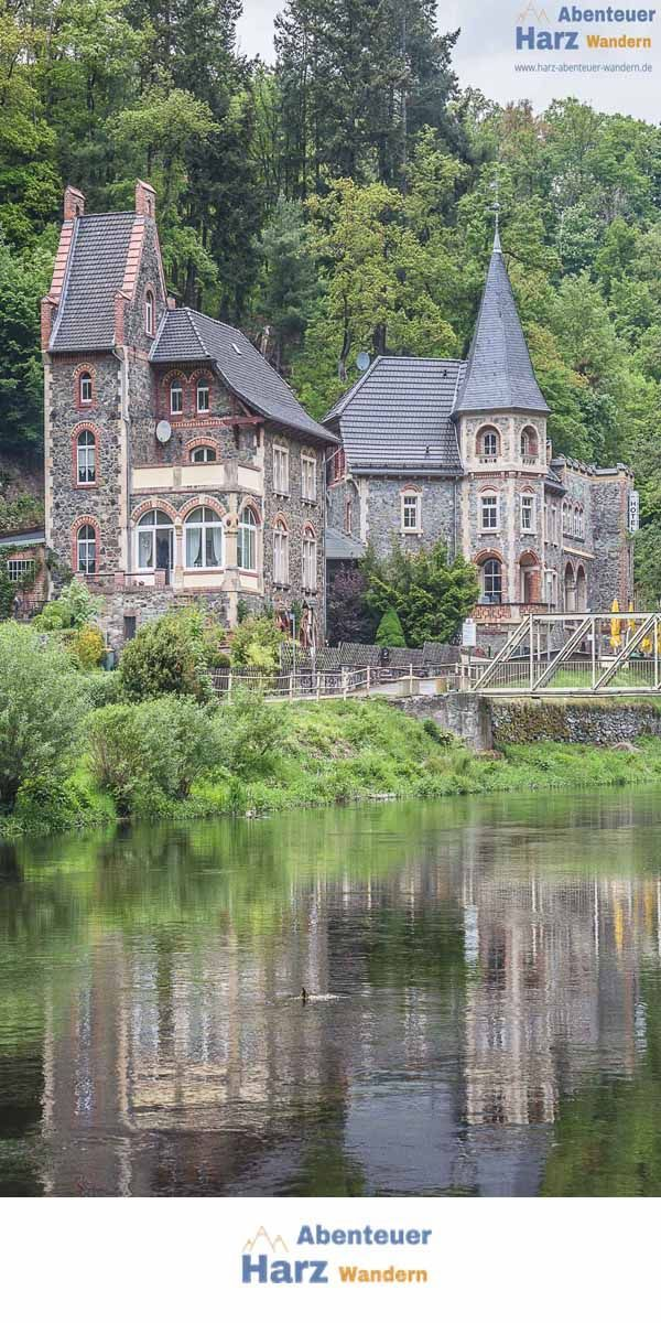 Photo of Treseburg in the Bodetal in the Harz Mountains