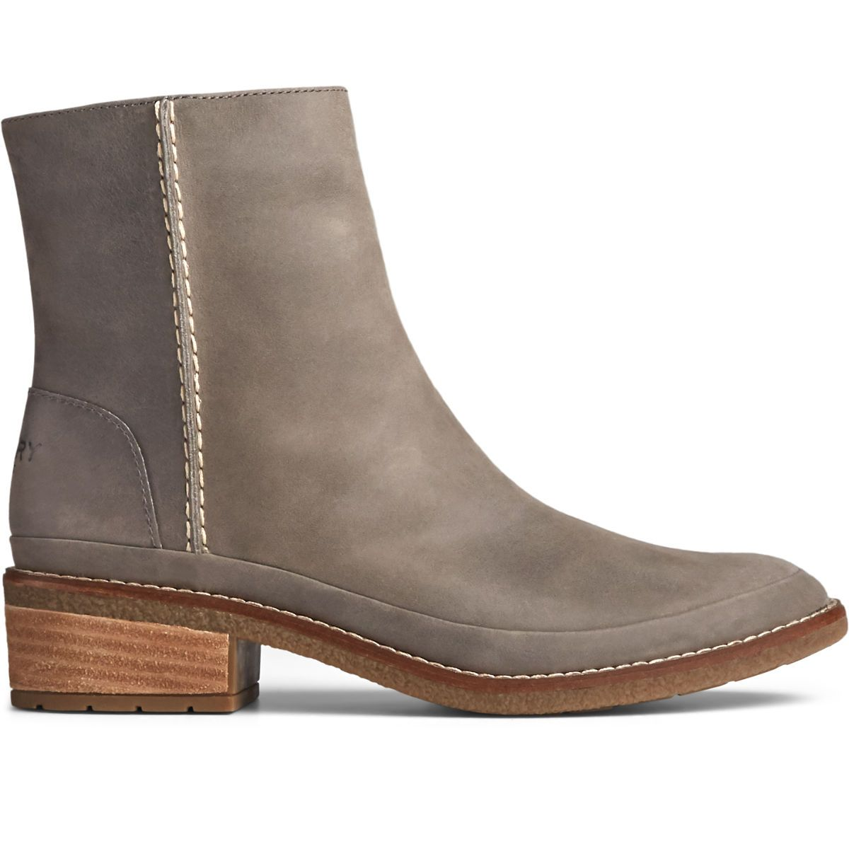 Your closet needs it (okay, you need it) - a pair of boots that will do it all. Goes-with-literally-everything suede and a full zipper mean you can easily swap your jeans for a midi skirt without ever changing your shoes.