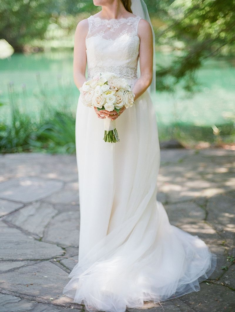 A Sweet Minneapolis Wedding | Amy Kuschel Bridal Gown |The Woods ...