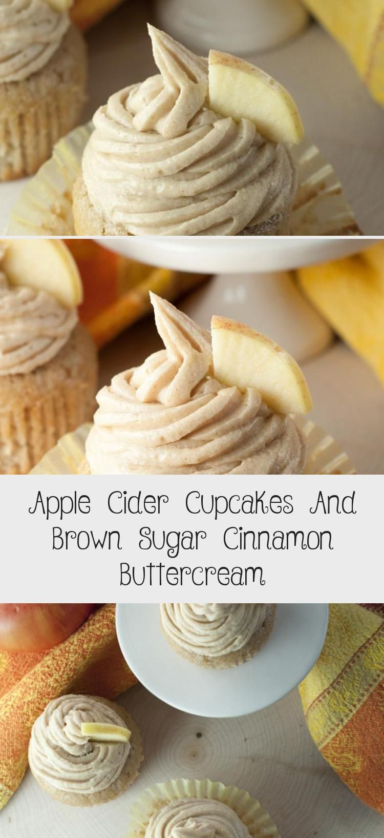 Apple Cider Cupcakes And Brown Sugar Cinnamon Buttercream #applecidercupcakeswithbrownsugar Apple Cider Cupcakes & Brown Sugar Cinnamon Buttercream | Wishes and Dishes #HealthyDessertRecipes #MexicanDessertRecipes #PeachDessertRecipes #FruitDessertRecipes #MangoDessertRecipes #applecidercupcakeswithbrownsugar