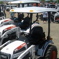 Fiberglass Canopy for Compact Tractors - 45