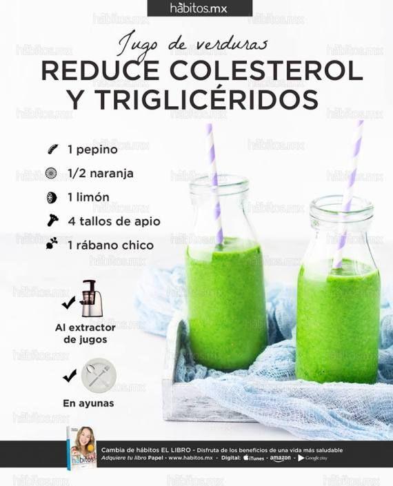 alimentos para disminuir colesterol y trigliceridos