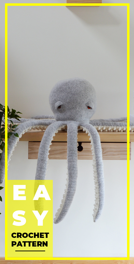 Crochet Large Amigurumi Octopus Pattern Amigurumi Crorchet Crocehtpattern In 2020 Octopus Crochet Pattern Crochet Patterns Octopus Crochet Pattern Free