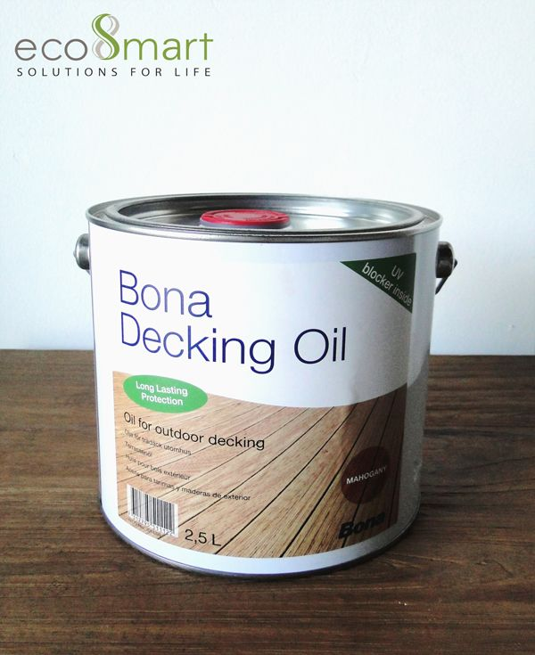 Bona Decking Oil Is A Concentrated Blend Of Vegetable Oils Modified For Superior Impregnation And Lon Decking Oil Sustainable Building Materials Deck Projects