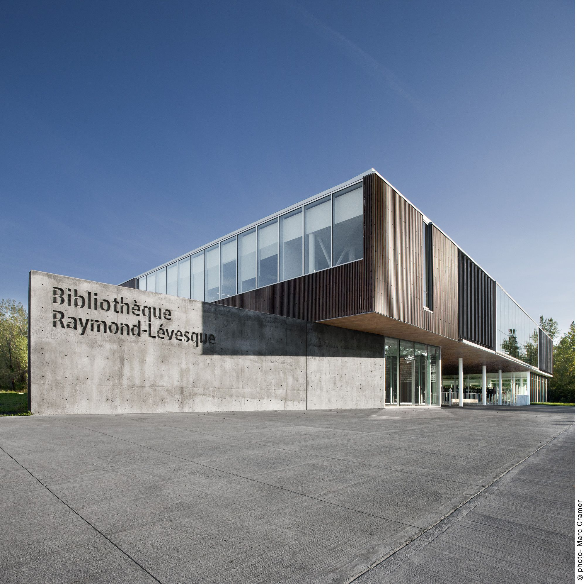 Gallery - Bibliothèque Raymond-Lévesque / Manon Asselin + Jodoin Lamarre Pratte - 1