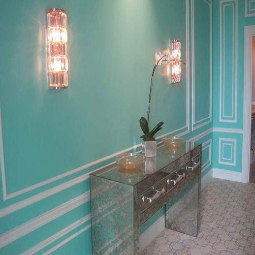 Tiffany Blue Dining Room Walls