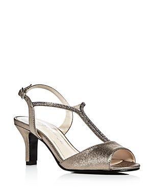42ac4cb2b CAPARROS DELICIA SATIN EMBELLISHED MID HEEL SANDALS.  caparros  shoes