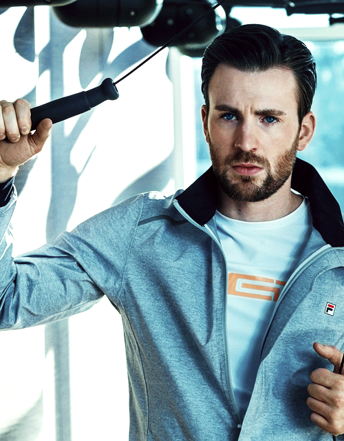 Chris Evans for FILA Red Line Collection Campaign 2016
