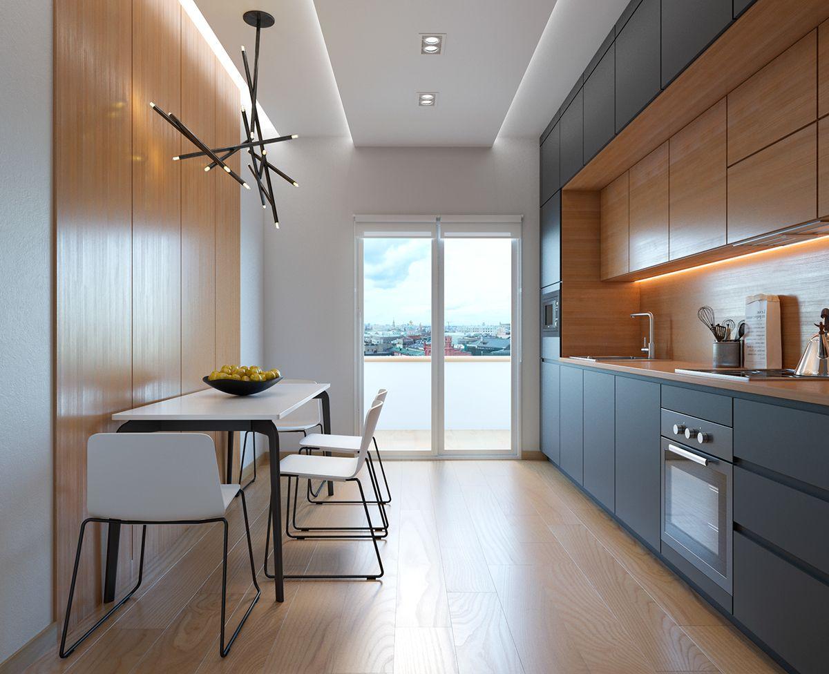 cuisine lin aire am nagements d 39 espace. Black Bedroom Furniture Sets. Home Design Ideas