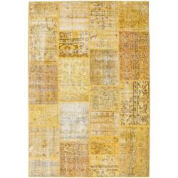 Photo of Patchwork Teppich 158×230 Moderner Teppich