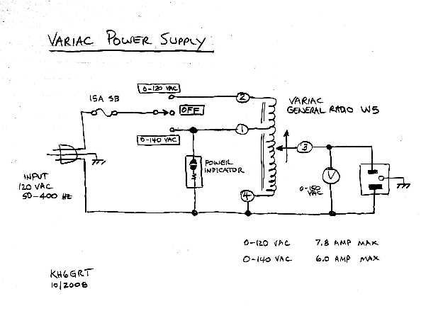 variac wiring diagram wiring diagrams structure Lap Steel Wiring