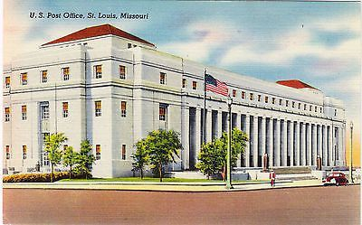 Post Office St Louis Missouri Postcard