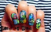 Photo of Graffiti Nail Art  by BornPrettyNails  Nail Art Gallery nailartgallery.na by