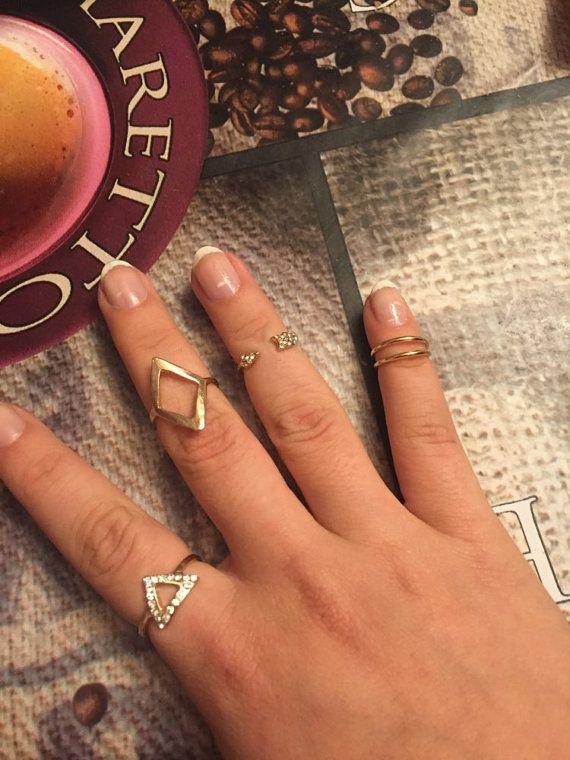5 Gold Rings Gold Ring Set Boho Jewelry Midi Rings Gold Rings Boho Uk
