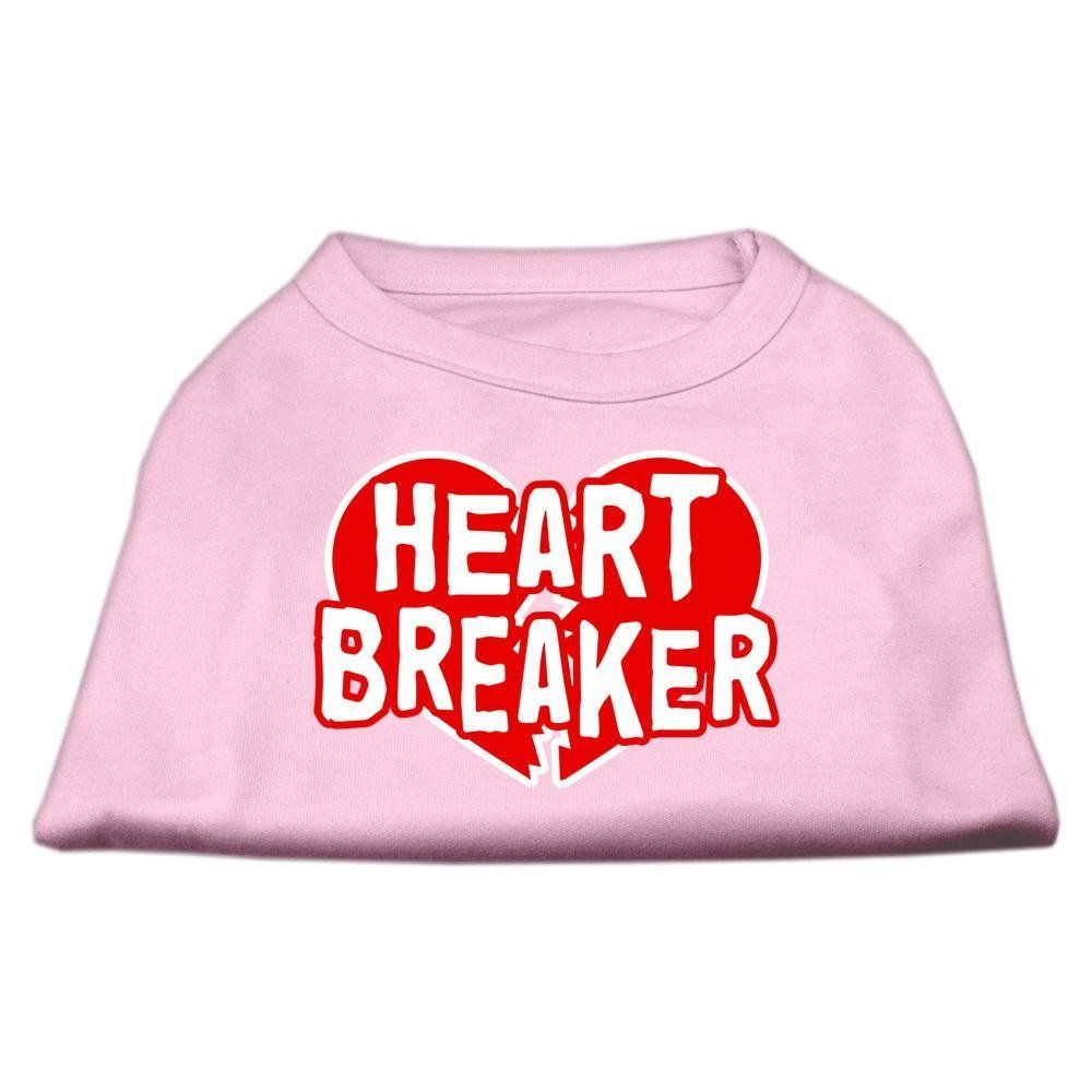 Mirage Pet Products 14-Inch Heart Breaker Screen Print Shirt for Pets, Large, Light Pink >>> You can get additional details at the image link. (This is an affiliate link and I receive a commission for the sales)