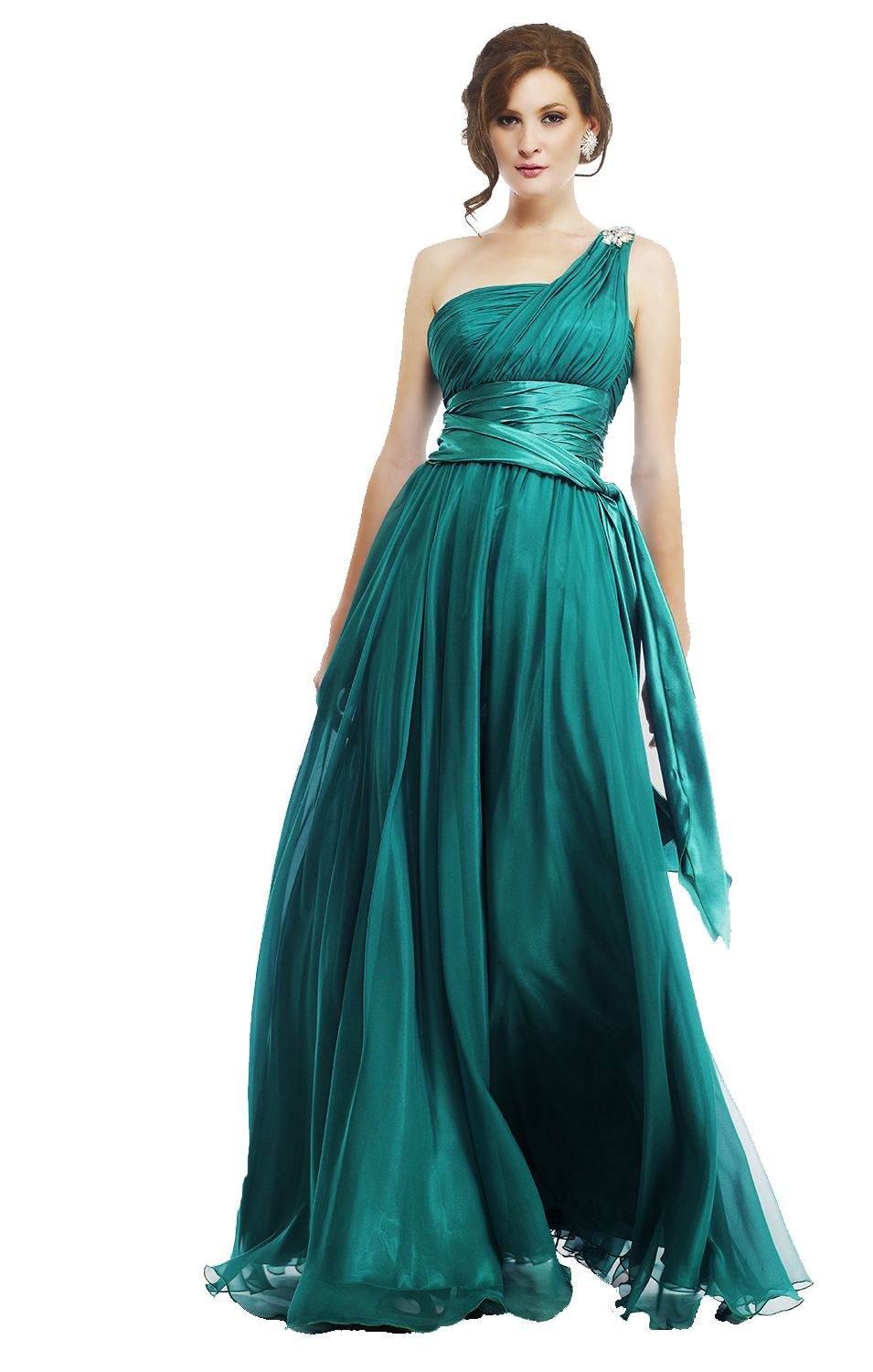 Beautiful Greek Style Gren Long Prom Dress B U Tfull Dresses