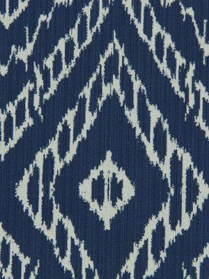 Blue White Ikat Fabric Upholstery Yardage by greenapplefabrics, $29.00