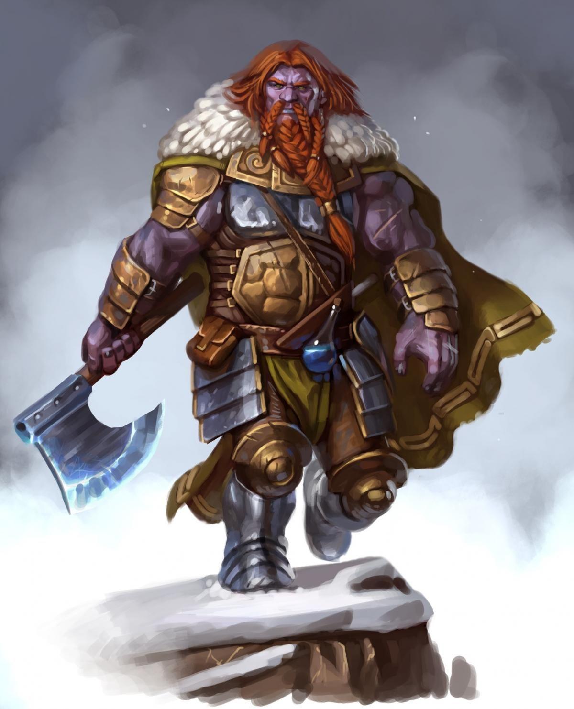 Fire Giant   D&D Monsters - Giants   Pinterest   Barbarian, RPG ...