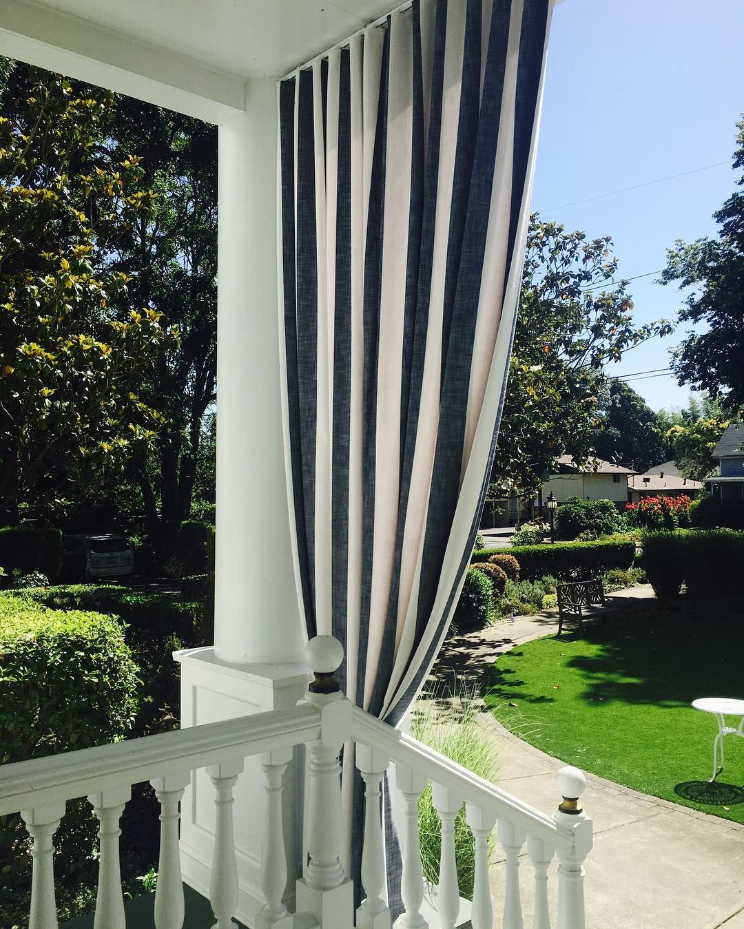 44 Classy Stylish Outdoor Curtains Idea For Contemporary And