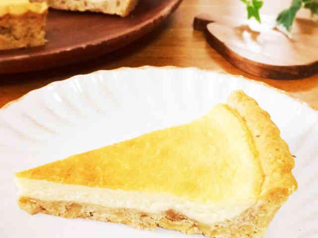 メープルベイクドチーズタルトの画像