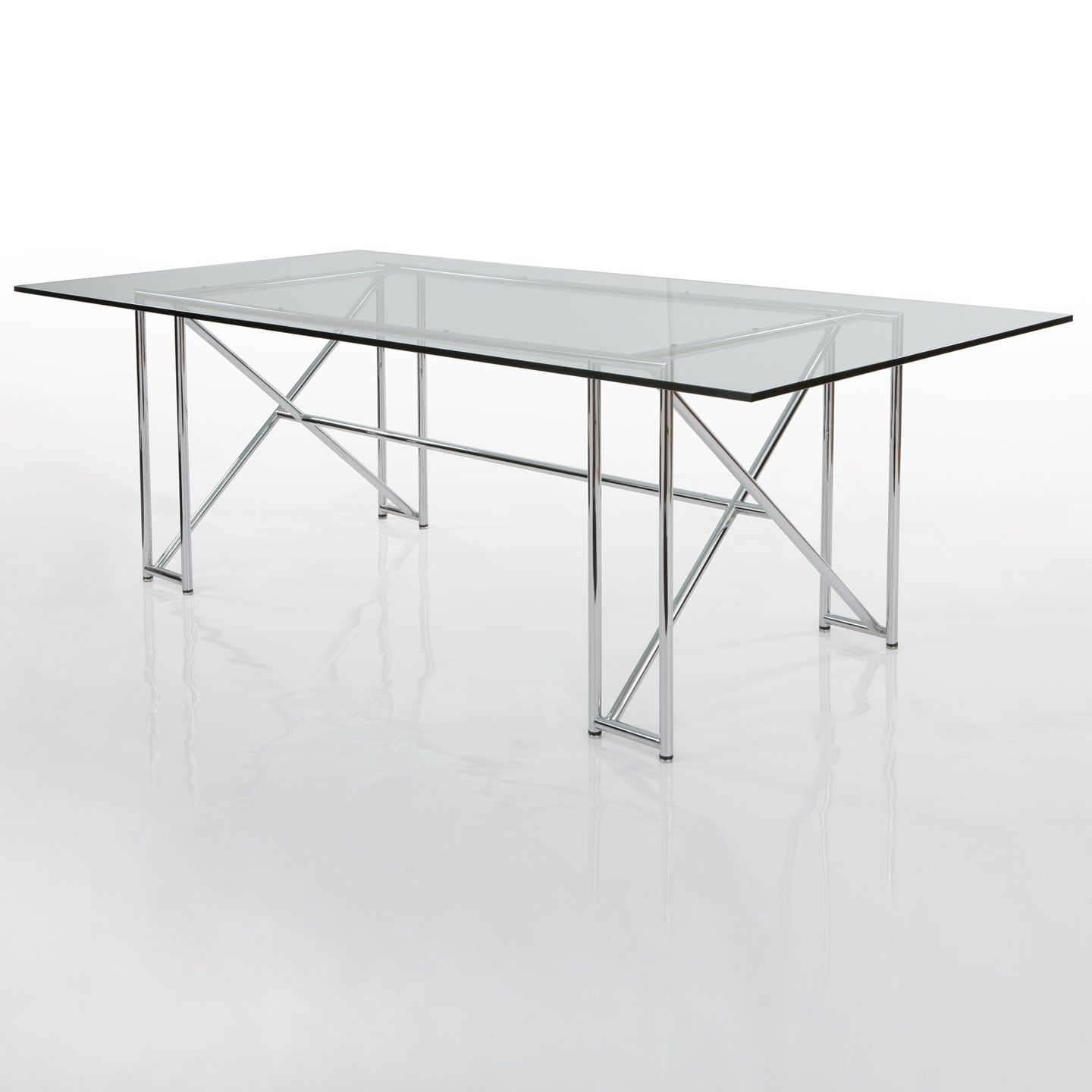 Double X dining table by Eileen Gray eileen gray
