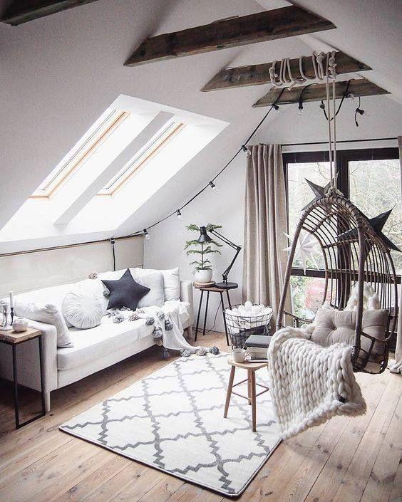 salon d coration zen homestaging fauteuil hamac decour. Black Bedroom Furniture Sets. Home Design Ideas