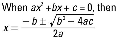 how to find f prime of a quadratic equation