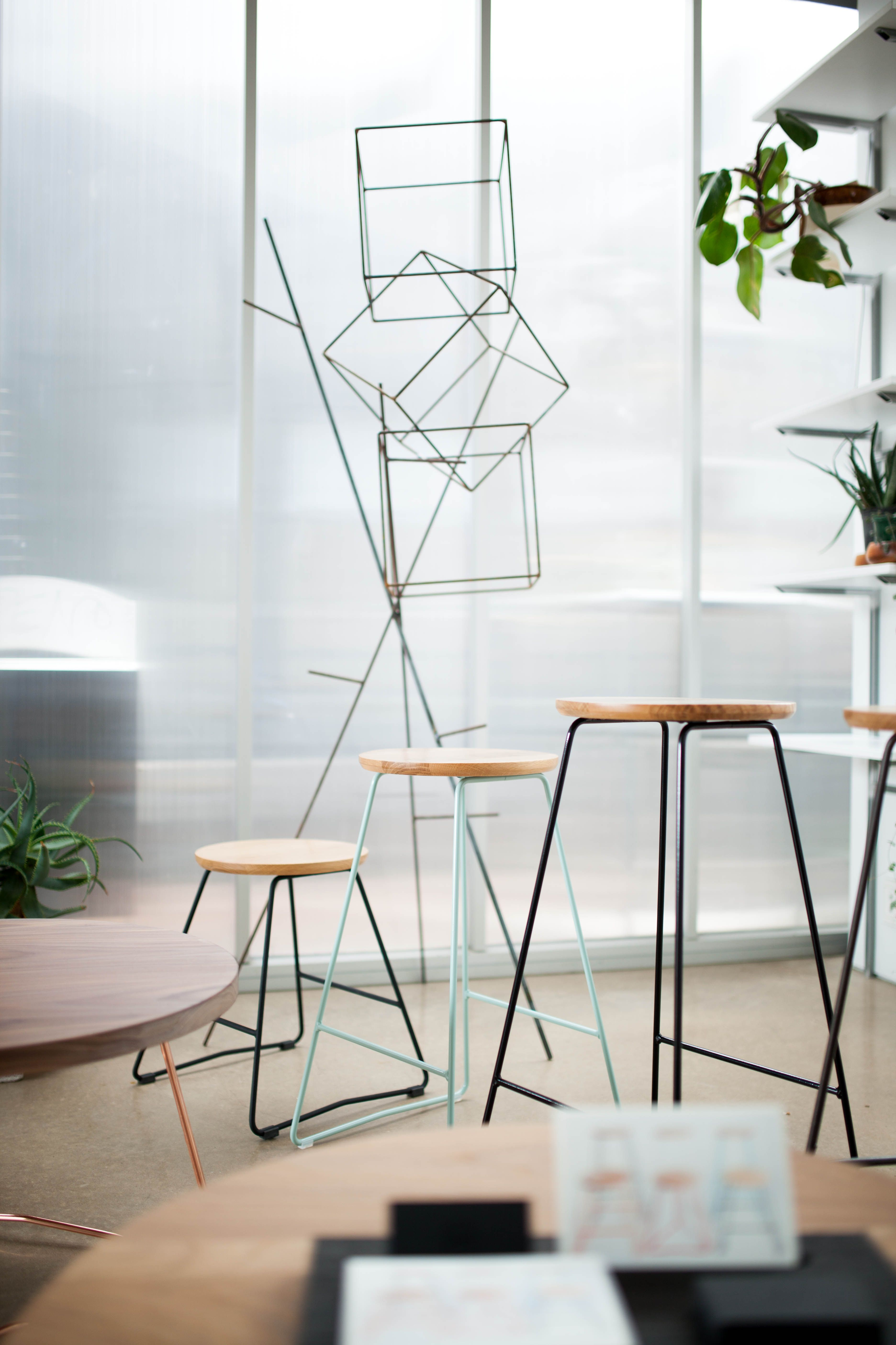 HUNT studio in Adelaide featuring HS stool range | Furniture | Pinterest
