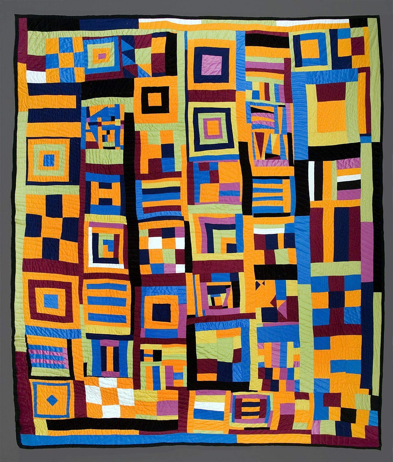 deep fried kudzu gee 39 s bend quilt commissioned for black history month african quilts. Black Bedroom Furniture Sets. Home Design Ideas