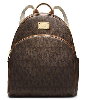 5b310a42c2930f MICHAEL Michael Kors Signature Jet Set Large Backpack | Dillard's Mobile