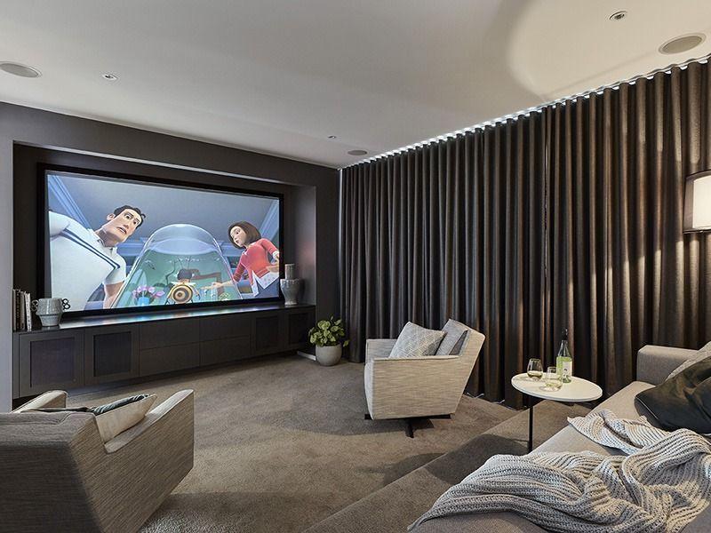 35 Clever Media Room Ideas 2021 Design Decor Ideas Home Cinema Room Home Theater Room Design Cinema Room Small