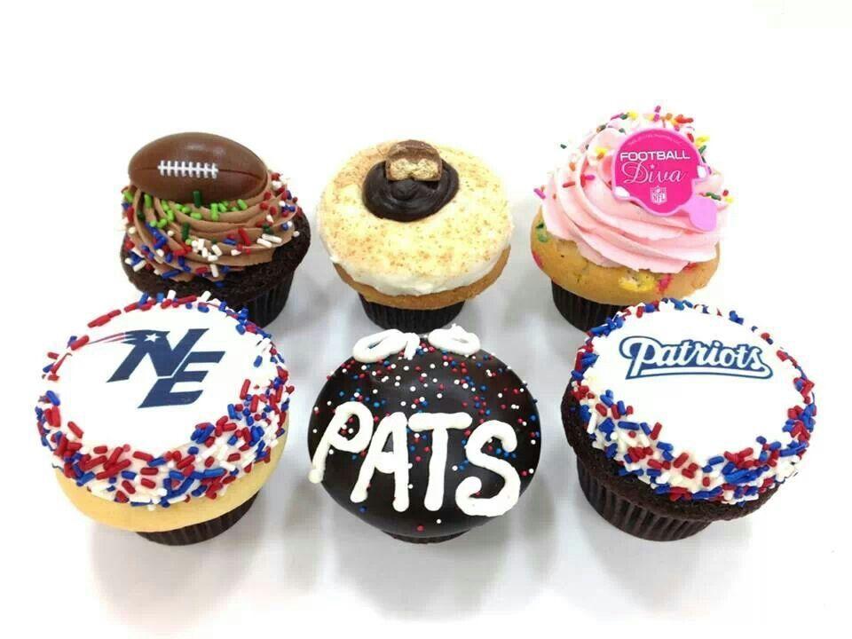 patriots cupcakes