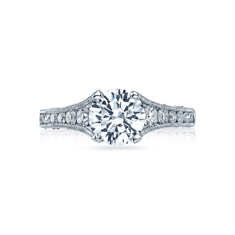 Chicago Bridal Marshall Pierce Company Tacori Tape Tacori Engagement Rings White Gold Sapphire Engagement Rings Rose Gold Engagement Ring Vintage