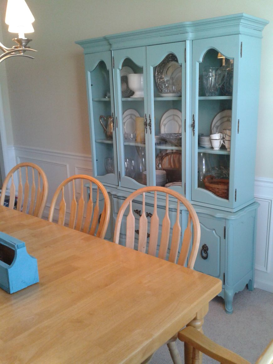 China cabinet before and after curvy feet herbgardenhome