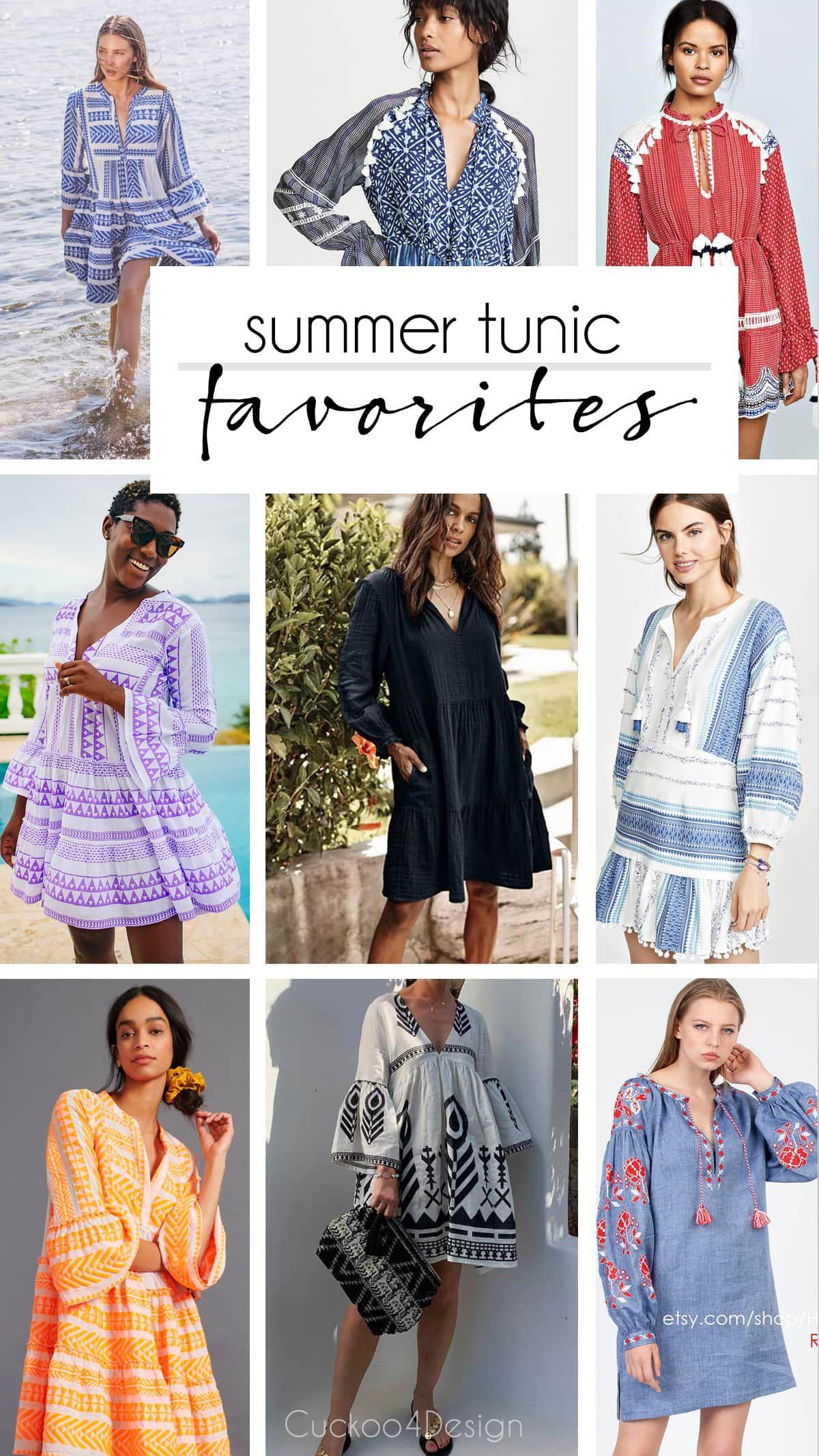 My Favorite Tunic Dresses In 2021 Summer Tunics Stylish Summer Outfits Summer Tunic Dress [ 2133 x 1200 Pixel ]