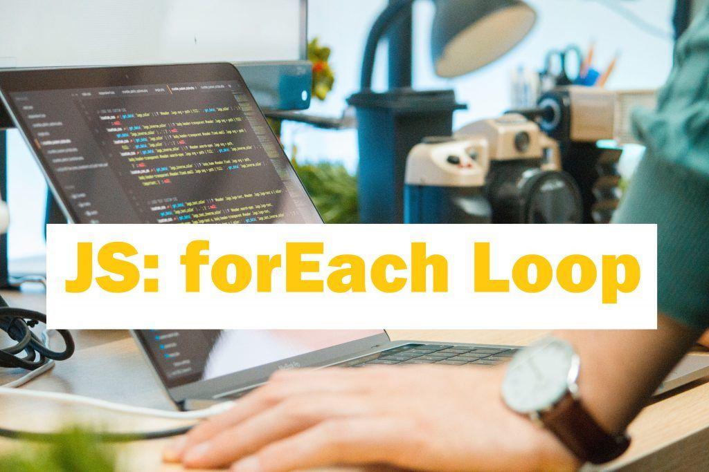 Foreach Loop In Javascript And It S Superiority Anjan Dutta