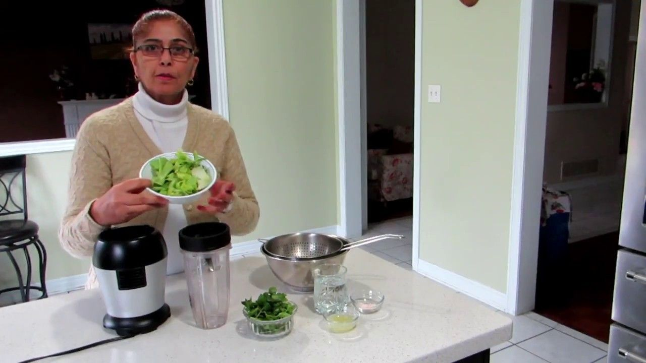 youtube how to make celery juice in a blender