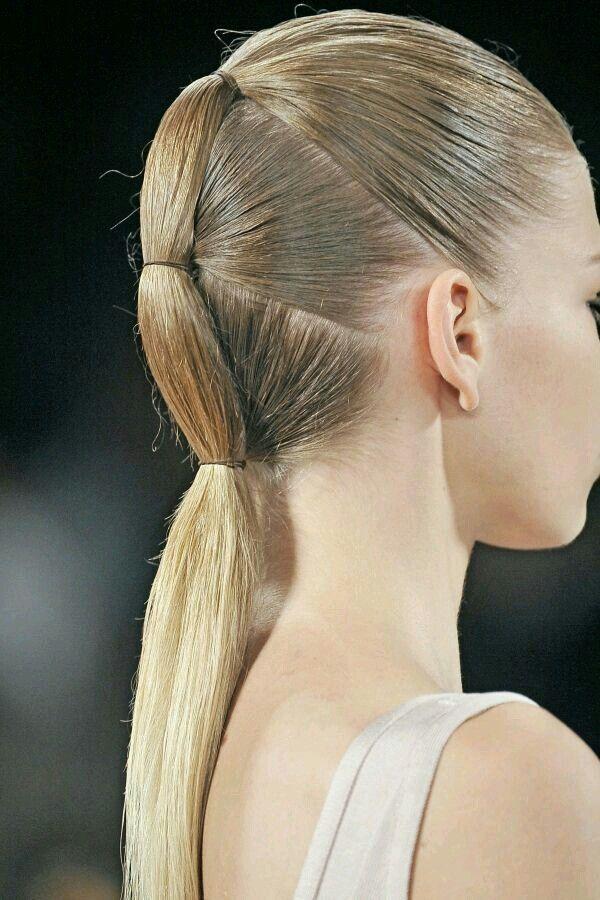 Dragon Tail Catwalk Hair Hair Mistakes Runway Hair