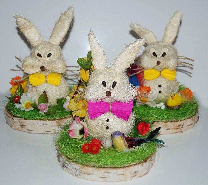 Zajac Wielkanocny Wielkanoc Ozdoba Stroik Prezent 3061322861 Oficjalne Archiwum Allegro Christmas Crafts For Kids Christmas Crafts Crafts For Kids