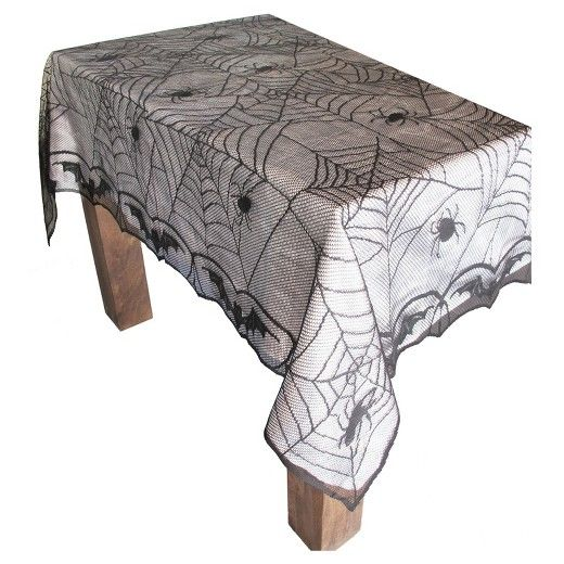 Halloween Lace Spiderweb Tablecloth   Hyde And Eek! Boutique. Keep Your  Table ...