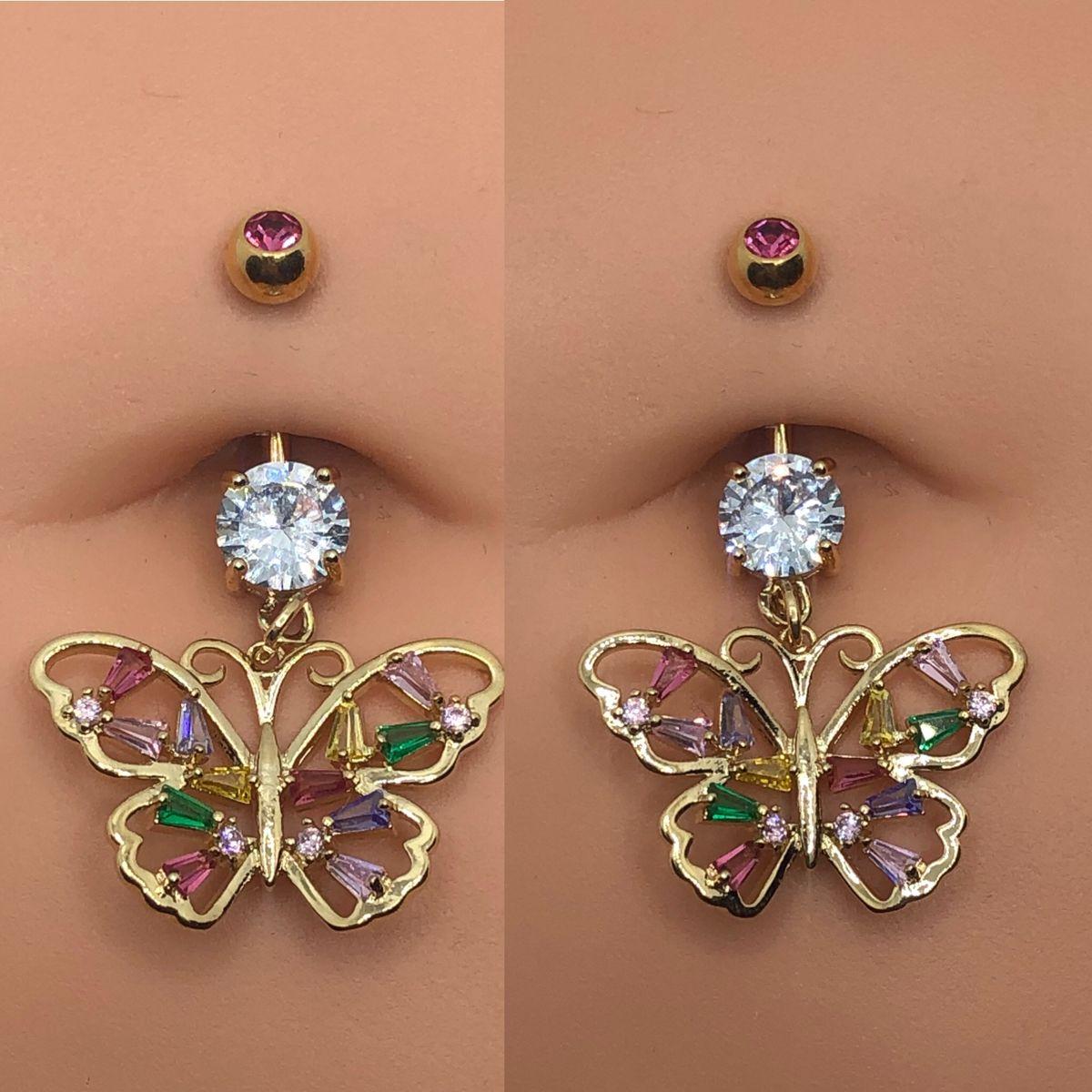 #bellybuttonpiercing #piercing #piercingideas #piercingaddict #piercingaesthetic #butterfly