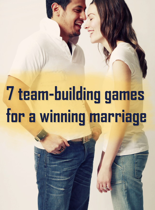 7 teambuilding games for a winning marriage Premarital