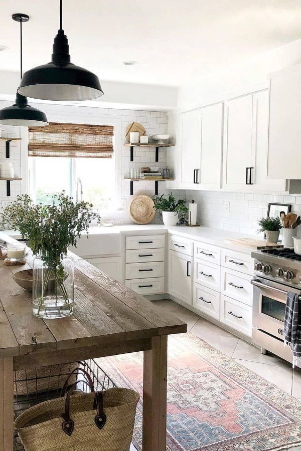 65 Beautiful Modern Kitchen Ideas Pictures Designs 2020 Page 11 Of 65 My Lovely Home Design In 2020 Modern Kitchen Rustic Kitchen Modern Farmhouse Kitchens
