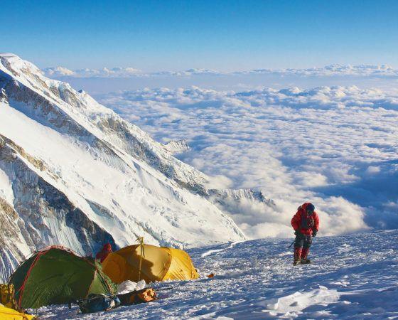 Mountain climbing K2