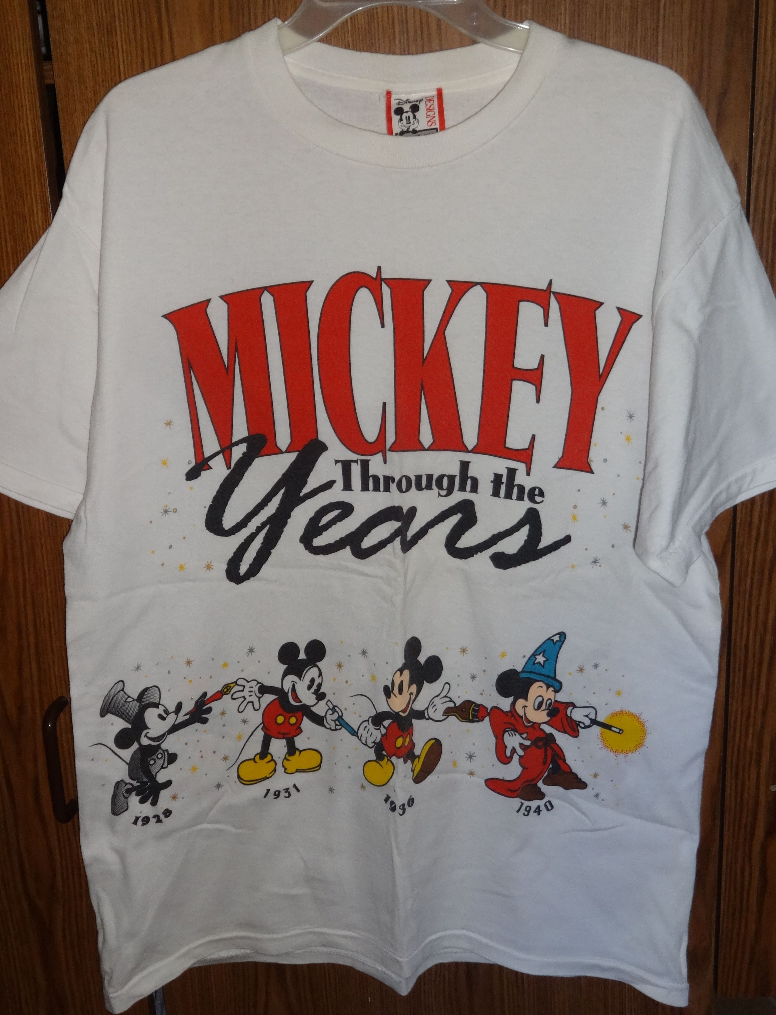 5f2d0c117b1e Vintage 70's Mickey Mouse through the years tshirt | Mickey and ...