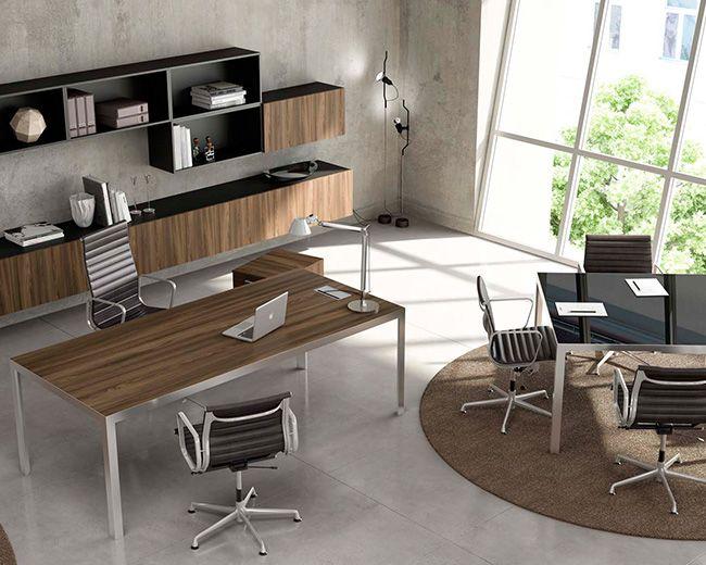 Arredi ufficio direzionali fuji executive alluminio products executive pinterest - Arredo ufficio moderno ...