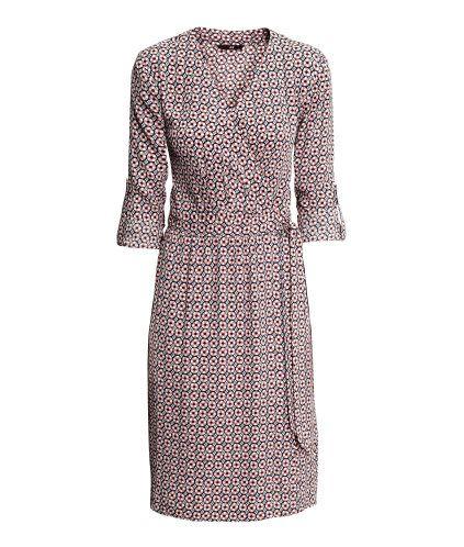 Omlottklänning | Product Detail | H&M